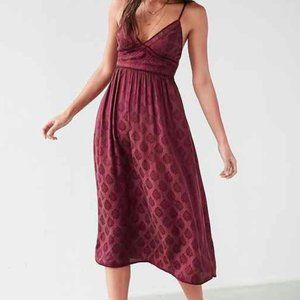 Urban Outfitters Jacquard Midi Dress